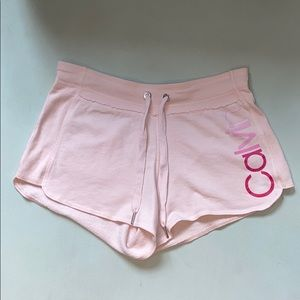 woman's Calvin Klein Performance Pink Shorts Small